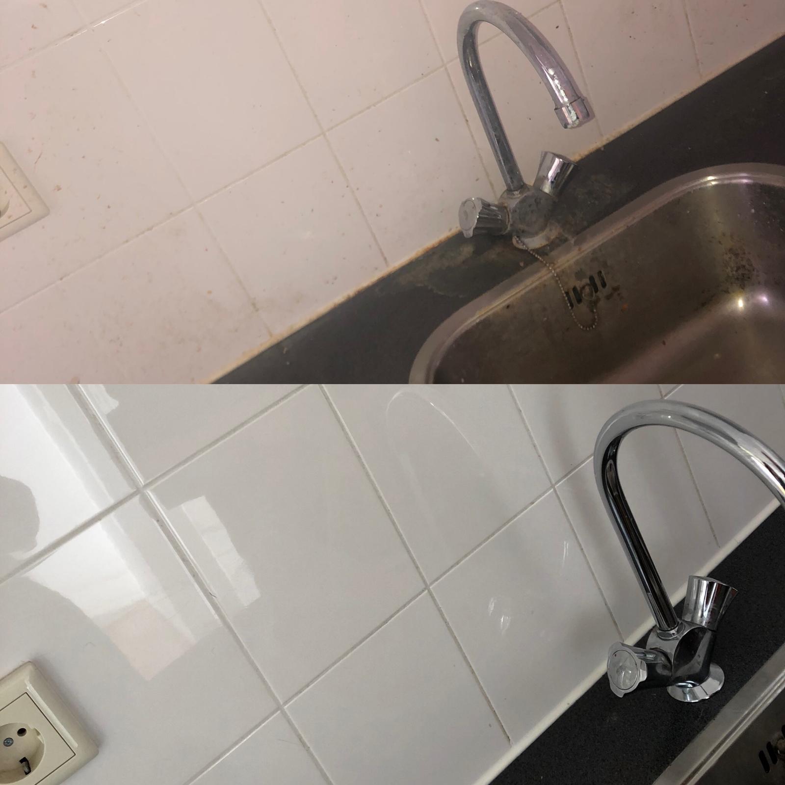 badkamers en keukens ontkalken